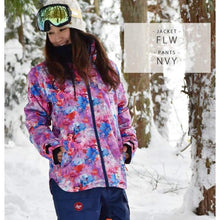 Jackets / Snow: Lilica Rose 2017 Ladies Ski And Snowboard Jacket [Nvy X Wht]+Pants Set [Burg] [Sj-02] - 1617 Clothing Fl-05 Fun Factory