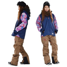 Jackets / Snow: Lilica Rose 2017 Ladies Ski And Snowboard Jacket [Nvy X Wht]+Pants Set [Burg] [Vt-01] - 1617 Clothing Fl-05 Fun Factory