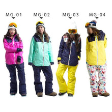 Jackets / Snow: Lilica Rose Ski And Snowboard Jacket [Nav X Pnk]+Pants Set [Nav] [Mg-01] - Mg-02 / S / Lilica Rose / 1617 Clothing Fun