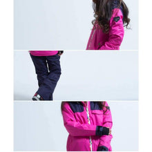 Jackets / Snow: Lilica Rose Ski And Snowboard Jacket [Nav X Yel]+Pants Set [Flower] [Mg-04] - 1617 Clothing Fun Factory Jackets Jackets /