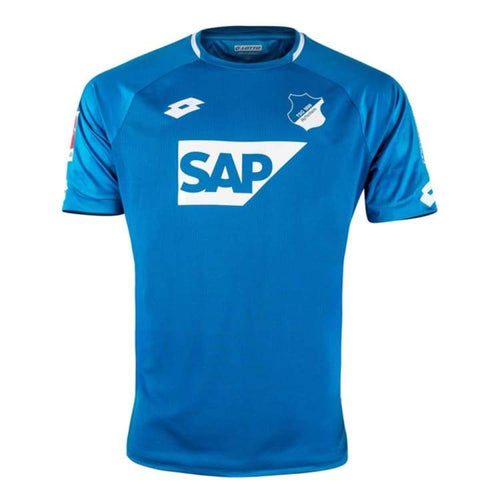 Jerseys / Soccer: Lotto 1899 Hoffenheim 18/19 Home S/s Jersey T8434 - Lotto / Blue / S / 1819 Blue Clothing Home Kit Jerseys |