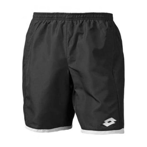 Shorts / Tennis: Lotto Aydex Ii Short Db - Blk/wht - Lotto / Xl / Black/white / Black/white Clothing Land Lotto Hk Mens | Ochk-Lotto-R9852-1