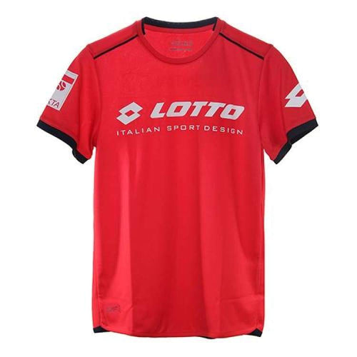 Tees / Short Sleeve: Lotto Aydex Iii Tee Prt Pl B L\ - Red [ Special Edition ] - Lotto / Xxs / Red / 2018 Clothing Hk Tennis Open Land Lotto