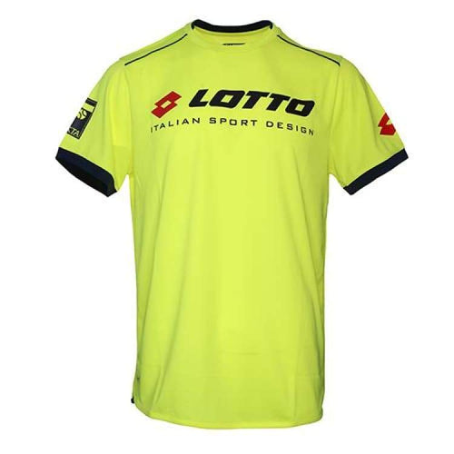 Tees / Short Sleeve: Lotto Aydex Iii Tee Prt Pl B L\ - Yellow [ Special Edition ] - Lotto / Xs / Yellow / 2018 Clothing Hk Tennis Open Land