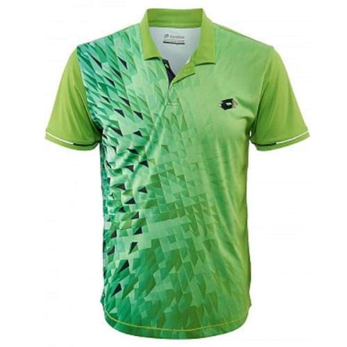 Polos / Short Sleeve: Lotto Blast Polo - Fluo Mint/navy - Lotto / M / Mint/navy / Clothing Land Lotto Lotto Hk Mens | Ochk-Lotto-R9882-1