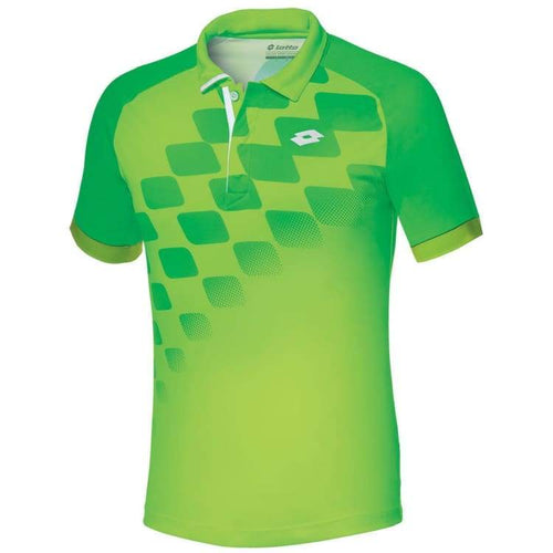 Polos / Short Sleeve: Lotto CONNOR POLO-FL CLOV/FL GRN - Lotto / S / Green / Clothing,Land,Lotto,Lotto HK,lotto_20200402 |