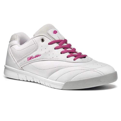 Shoes / Tennis: Lotto Court Classic Ix W - White/cand Fl - Lotto / Us: 6.5 / White/cand / Footwear Land Lotto Hk On Sale Shoes |