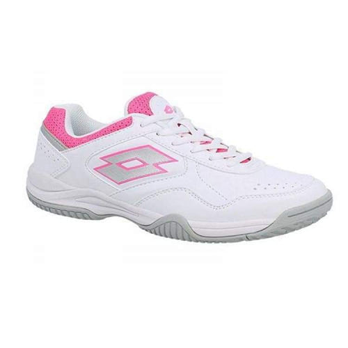 Shoes / Tennis: Lotto Court Logo Xi W - Wht/glos Fl - Lotto / Us: 5.5 / White/glos / Footwear Land Lotto Hk Shoes Shoes / Tennis |