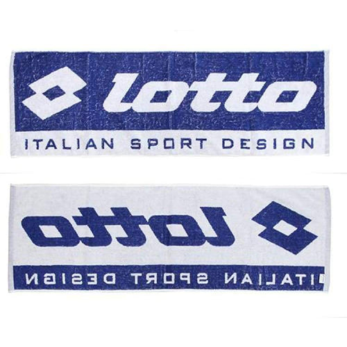 Towel: Lotto Hkto Training Towel - Electric Blue/white - Lotto / Electric Blue/white / Accessories Blankets & Towels Electric Blue/white