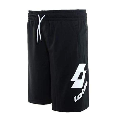 Shorts / Casual: Lotto Losanga Bermuda Pl - Black/white [ Special Edition ] - Lotto / S / Black/white / 2018 Black/white Clothing Hk Tennis