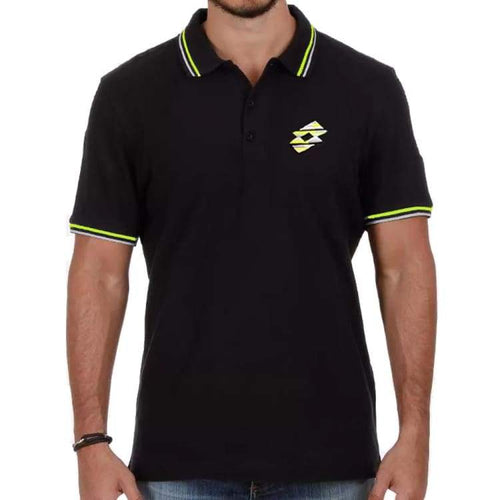 Polos / Short Sleeve: Lotto MENS CLIFF STC POLO-BLACK - Lotto / S / Black / Casual,Clothing,Land,Lotto,Lotto HK | OCHK-LOTTO-Q2988-1