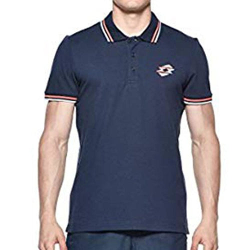 Polos / Short Sleeve: Lotto MENS CLIFF STC POLO-NAVY - Lotto / S / Navy / Casual,Clothing,Land,Lotto,Lotto HK | OCHK-LOTTO-Q2987-S