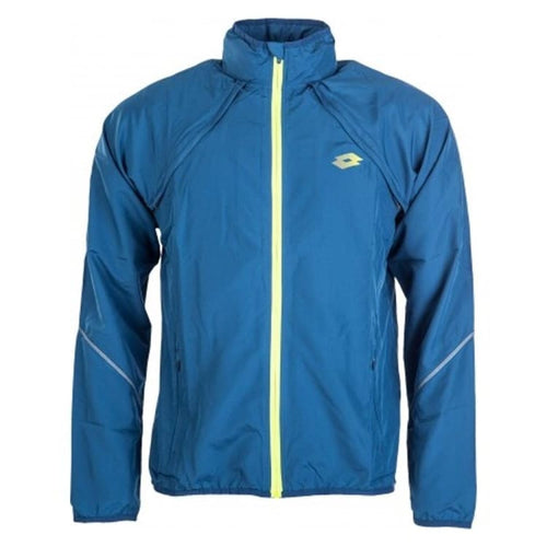 Jackets / Windbreaker: Lotto MENS FLASHRIDE JACKET-BLU OIL/GRN LIZ - Lotto / L / Blue / Blue,Clothing,Jackets,Jackets / Windbreaker,Land |