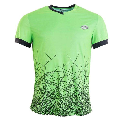 Tees / Short Sleeve: Lotto MENS GRAVITY VN T-SHIRT-FLUO MINT - Lotto / L / Lime / Causal,Clothing,Land,Lotto,Lotto HK | OCHK-LOTTO-R7217-1
