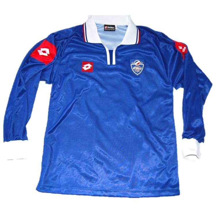 Jerseys / Soccer: Lotto National Team 2002 Yugoslavia (H) L/s E6306 - Lotto / Xl / Blue / 2002 Blue Clothing Football Home Kit |