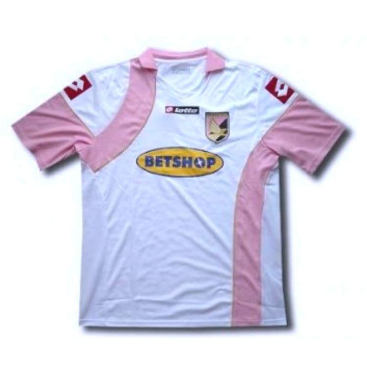 Jerseys / Soccer: Lotto Palermo 09/10 (A) S/s - Lotto / S / White / Clothing Football Jerseys Jerseys / Soccer Land |