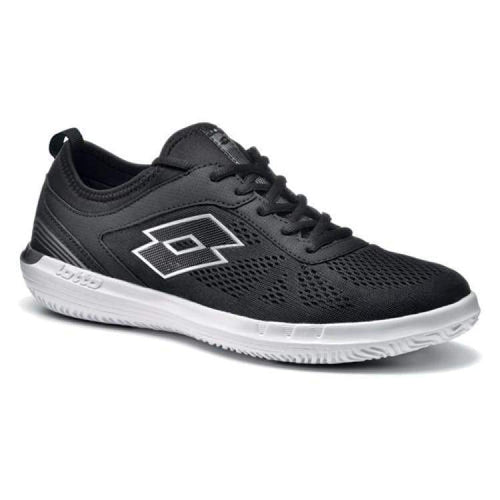 Shoes / Tennis: Lotto Quaranta Lf Amf - Blk/titan G - Lotto / Us: 7.5 / Black/titan / Black/titan Footwear Land Lotto Hk Mens |