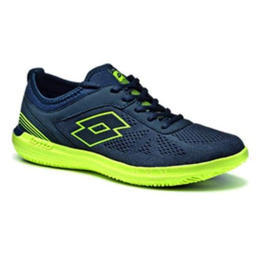 Shoes / Tennis: Lotto Quaranta Lf Amf - Navy Dk/ylw Saf - Lotto / Us: 7.5 / Navy/yellow / Footwear Land Lotto Hk Mens Navy/yellow |
