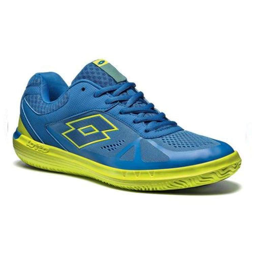 Shoes / Tennis: Lotto Quaranta Vip - Blu Pac/grn Aca - Lotto / Us: 7.5 / Blue/green / Blue/green Footwear Land Lotto Hk Mens |