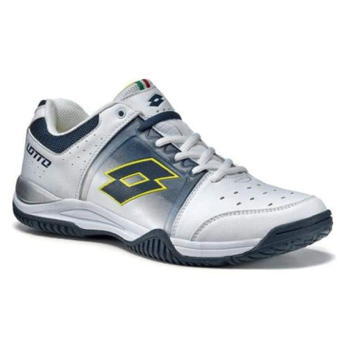 Shoes / Tennis: Lotto T-Tour V 600 - White/aviator - Lotto / Us: 9.5 / White/aviator / Footwear Land Lotto Lotto Hk Mens |