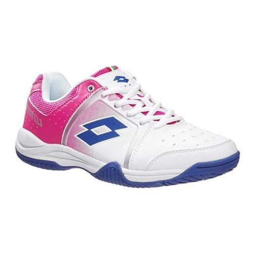 Shoes / Tennis: Lotto T-Tour Vi 600 W - Wht/pnk Ber - Lotto / Us: 6.5 / White/pink Berry / Footwear Land Lotto Lotto Hk Shoes / Tennis |