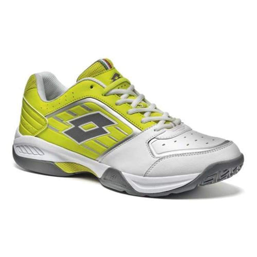 Shoes / Tennis: Lotto T-Tour Vii 600 - Wht/grn Aca - Lotto / Us: 7.5 / White/green / Footwear Land Lotto Lotto Hk Mens | Ochk-Lotto-S1467-1