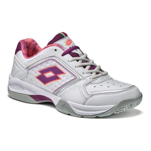 Shoes / Tennis: Lotto T-Tour Viii 600 W - Wht/peony - Lotto / Us: 5.5 / White/peony / Footwear Land Lotto Lotto Hk Shoes / Tennis |