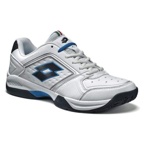 Shoes / Tennis: Lotto T-Tour Viii 600 - Wht/blu Avi - Lotto / Us: 7.5 / White/blue / Footwear Land Lotto Lotto Hk Mens | Ochk-Lotto-S3811-1