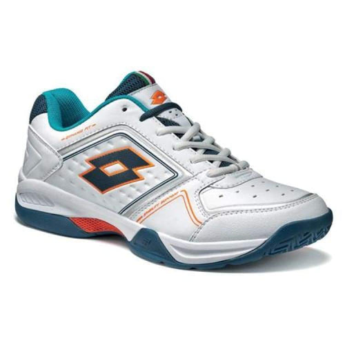 Shoes / Tennis: Lotto T-Tour Viii 600 - Wht/blu Tl - Lotto / Us: 8.0 / White/blue / Footwear Land Lotto Lotto Hk Mens | Ochk-Lotto-S3810-1
