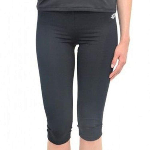 Pants / Sweat: Lotto WOMENS URSULA II LEGGINGS MID-BLACK - Lotto / XS / Black / Clothing,Land,Lotto,Lotto HK,lotto_20200402 |