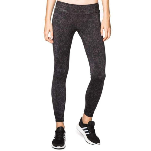 Pants / Legging: Lotto WOMENS URSULA III LEGGINGS MID-BLACK PRINT - Clothing,Land,Lotto,Lotto HK,lotto_20200402 | OCHK-LOTTO-S2762-1