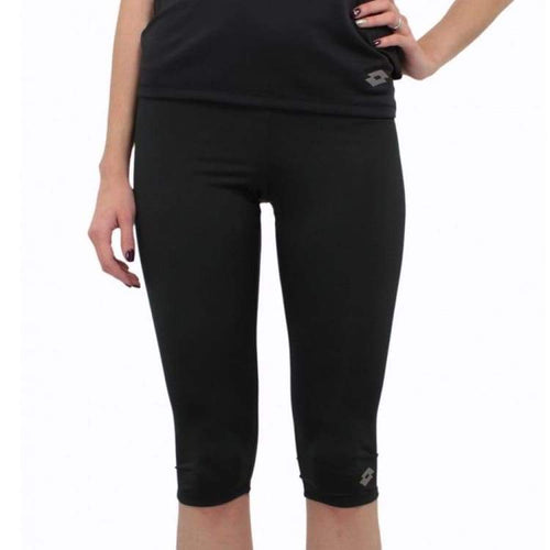 Pants / Legging: Lotto WOMENS URSULA III LEGGINGS MID-BLACK - Lotto / XS / Black / Clothing,Land,Lotto,Lotto HK,lotto_20200402 |