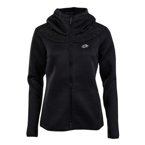 Hoodies & Sweaters: Lotto WOMENS URSULA III SWEAT FZ HOODIE-BLACK - Lotto / XS / Black / Causal,Clothing,Hoodies & Sweaters,Land,Lotto |