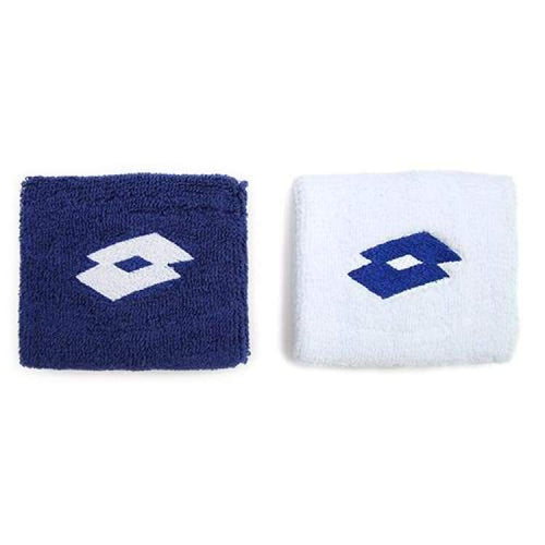 Sweat Bands: Lotto Wrist Band - White / Electric Blue - Lotto / White/electric Blue / Accessories Land Lotto Lotto Hk Mens |
