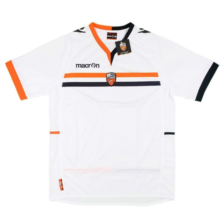 Jerseys / Soccer: Macron Fc Lorient 13/14 (A) S/s - Macron / M / White / Clothing Football Jerseys Jerseys / Soccer Land |
