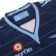 Jerseys / Soccer: Macron Lazio 13/14 (3Rd) S/s Jersey 58091211 - Blue Clothing Football Jerseys Jerseys / Soccer