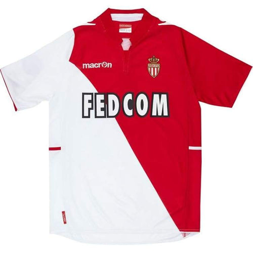 Jerseys / Soccer: Macron Monaco 13/14 (H) S/s - Macron / M / Red / 1314 Clothing Home Kit Jerseys Jerseys / Soccer |