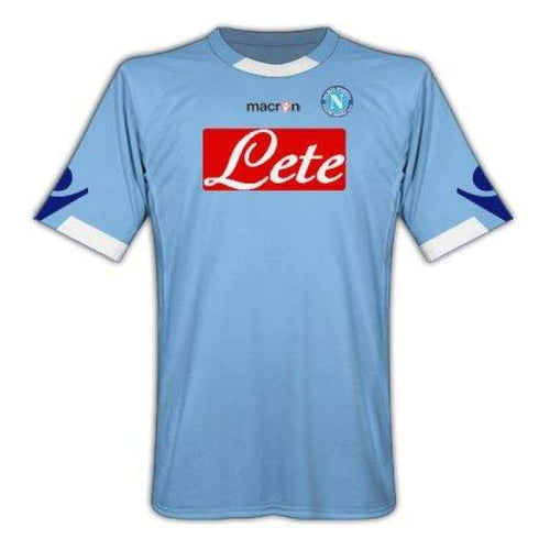 Jerseys / Soccer: Macron Napoli 10/11 (H) S/s Jersey Ssita10100H - Macron / S / Blue / 1011 Blue Clothing Football Home Kit |