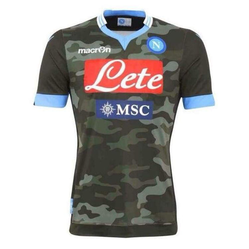 Jerseys / Soccer: Macron Napoli 13/14 (A) S/s Jersey Ssita10130A - Macron / S / Camo / 1314 Away Kit Camo Clothing Football |