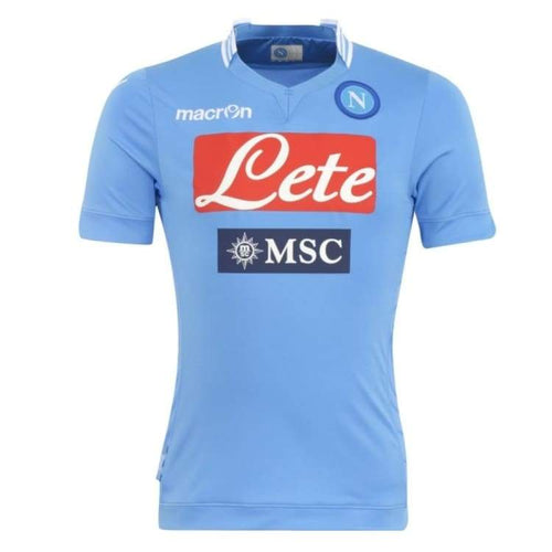 Jerseys / Soccer: Macron Napoli 13/14 (H) Player S/s Jersey Ssita10131H00M - Macron / M / Blue / Blue Clothing Football Jerseys Jerseys /