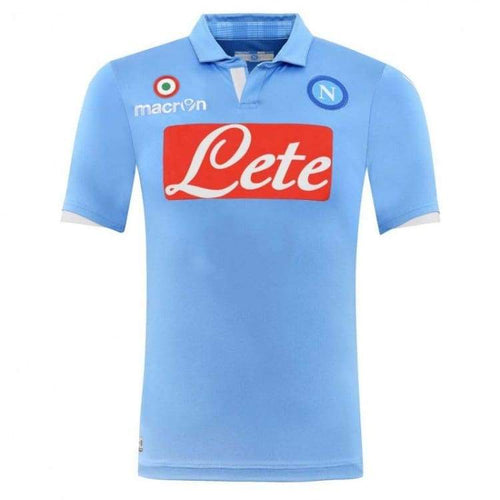 Jerseys / Soccer: Macron Napoli 14/15 (H) Authentic Match S/s Jersey 58063800 - Macron / Xl / Blue / 1415 Blue Clothing Football Home |