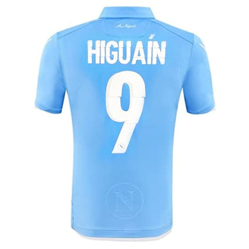 Jerseys / Soccer: Macron Napoli 14/15 (H) Authentic Match S/S Jersey (#9 HIGUAIN) 58063800 - Macron / M / Blue / 1415, Blue, Clothing,