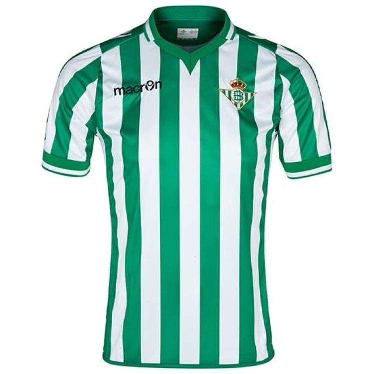 Jerseys / Soccer: Macron Real Betis 13/14 (H) S/s - Macron / S / Green / Clothing Football Green Jerseys Jerseys / Soccer |