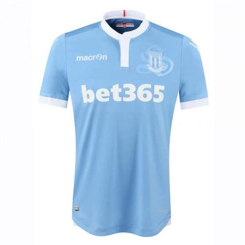 Jerseys / Soccer: Macron Stoke City 16/17 (A) S/s - Macron / S / Blue / 1617 Away Kit Blue Clothing Football | Ochk-Sfalo-Sseng18160A-1