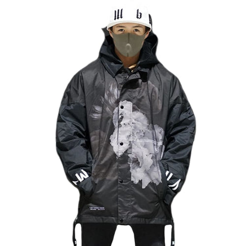 Jackets / Snow: MARQLEEN COACH JACKET II-BLACKFLOWER - MARQLEEN ULTIMARA / XS / BlackFlower / 2021, BlackFlower, Clothing, Ice & Snow,