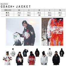 Jackets / Snow: MARQLEEN COACH + JACKET (Japanese Brand) ML9002-995 [Unisex] - 1920 Black Flower Clothing Ice & Snow Jackets |