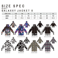 Jackets / Snow: Marqleen Galaxxy Jacket - Dryflower (Japanese Brand) Ml8011-985 - 1819 Clothing Dryflower Ice & Snow Jackets