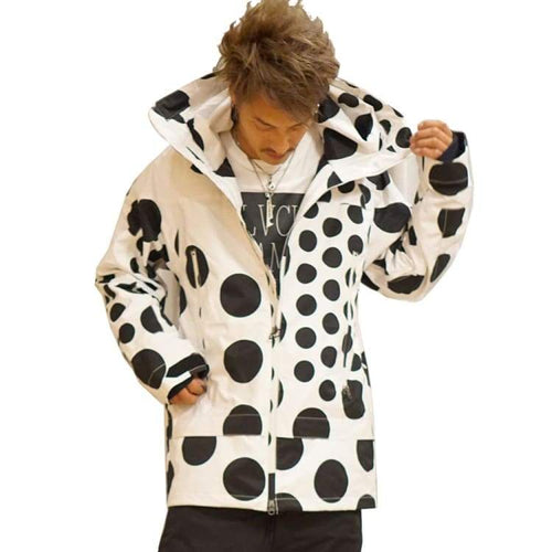 Jackets / Snow: Marqleen Galaxxy Jacket - White Dot (Japanese Brand) Ml8011-005 - Marqleen Ultimara / White Dot / S / 1819 Clothing Ice &