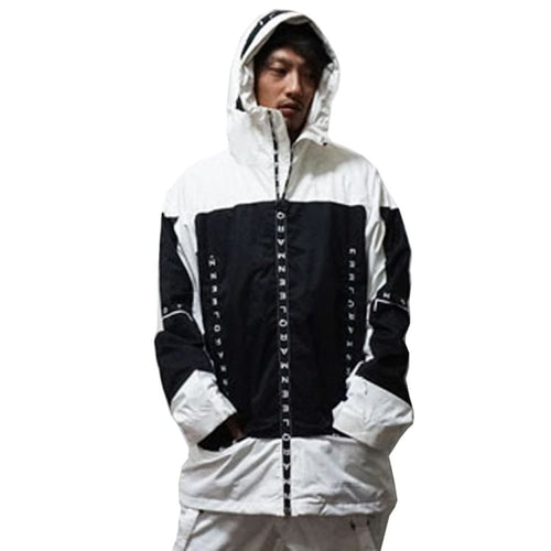 Jackets / Snow: MARQLEEN GALAXXY JACKET (Japanese Brand) ML9000-000 [Unisex] - MARQLEEN ULTIMARA / S / White / 1920 Clothing Ice & Snow