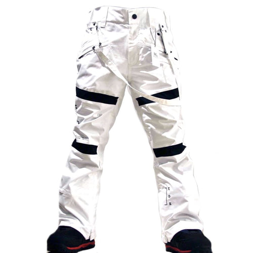 Pants / Snow: MARQLEEN GALAXXY PANTS-WHITE - MARQLEEN ULTIMARA / XS / White / 2021, Clothing, Ice & Snow, MARQLEEN ULTIMARA, Mens |